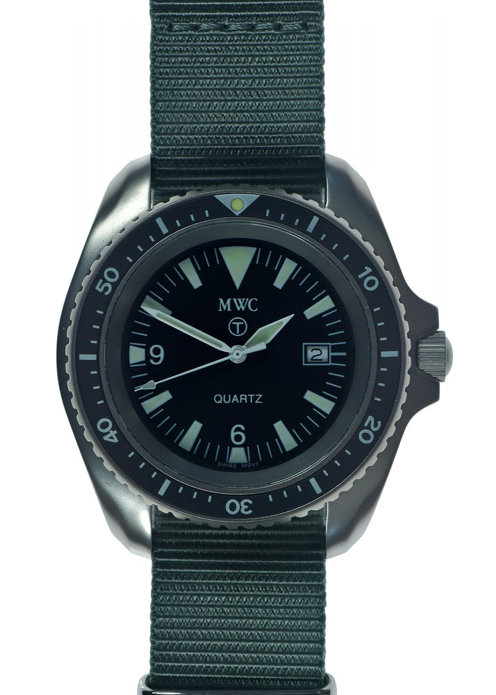 Very Rare MWC 1999-2001 Pattern Quartz Military Divers Watch / Brand New & Unissued in Presentation Box