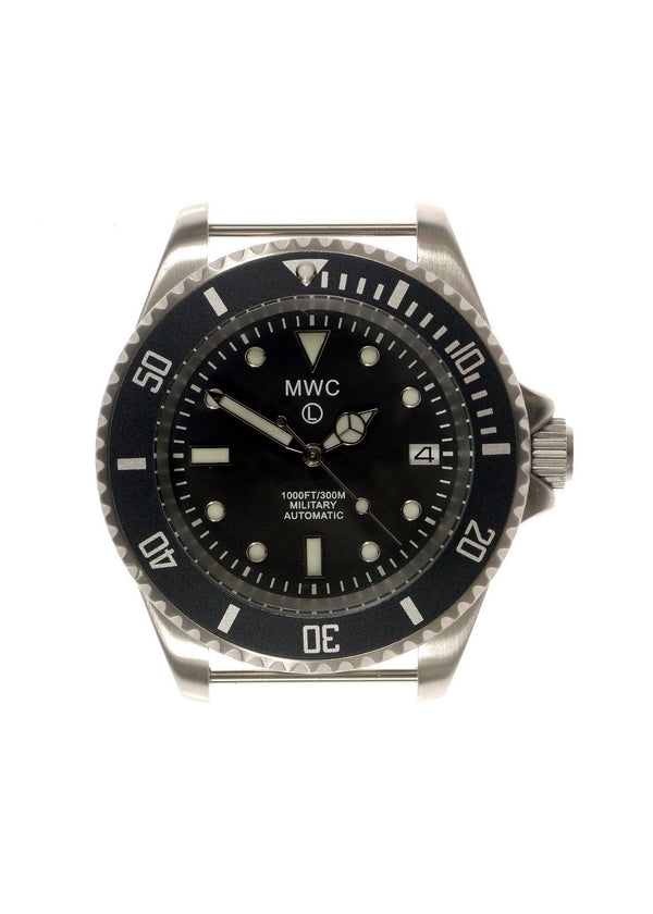 MWC 24 Jewel 300m Automatic Military Divers Watch Latest Spec with Sapphire Crystal, Ceramic Bezel Etc - May Need Regulating but Brand New