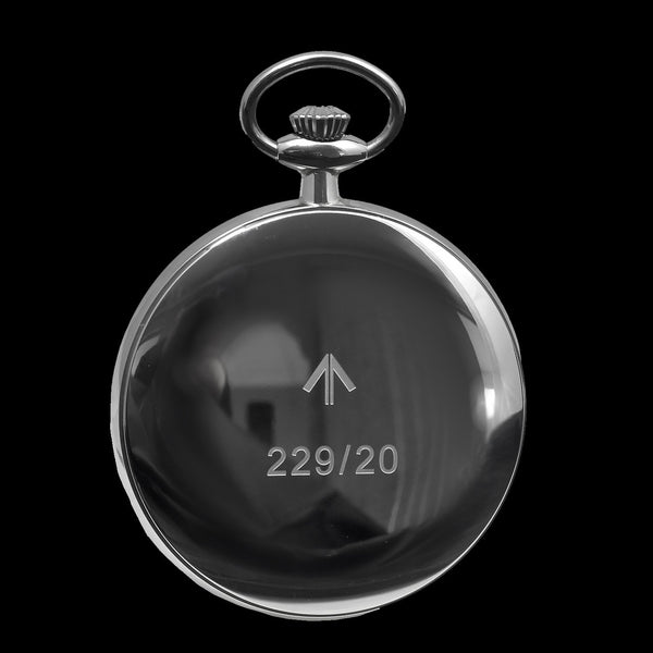 General Service Military Pocket Watch (Hybrid Movement with Black Dial)
