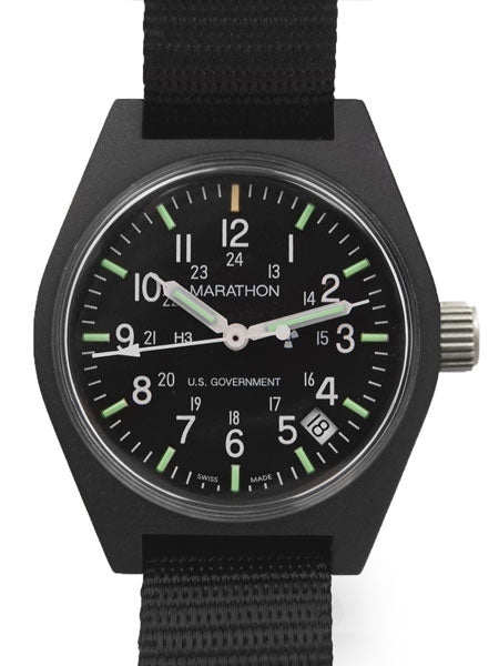 Marathon General Purpose Tritium Military Infantry Watch - 2 Only to Clear