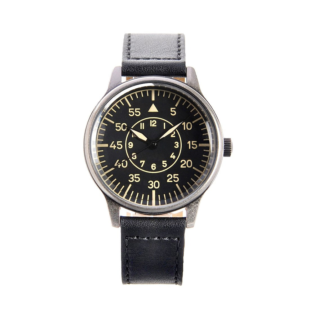 Replica WW2 German Lufwaffe Pattern Military Watch in Retro Pattern Casing - Ex Display Watch From A Trade Show Reduced