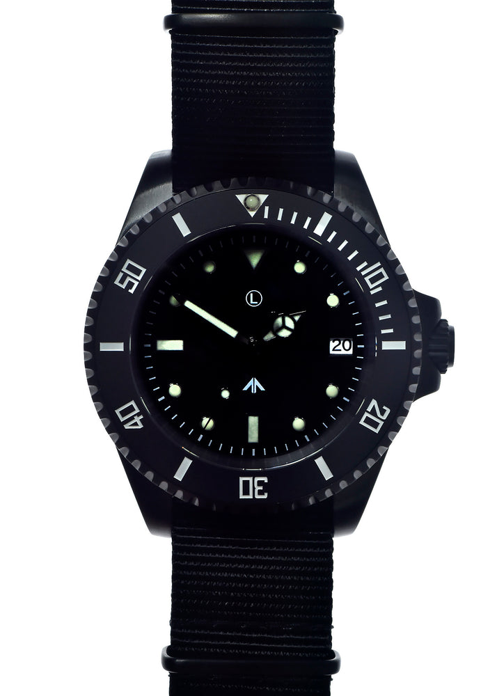 MWC 24 Jewel PVD 300m Automatic Military Divers Watch - Ex Display Watch from a Trade Show