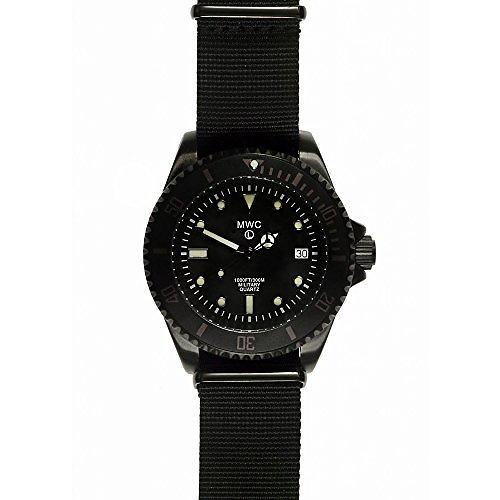 MWC 300m / 1000ft PVD Steel Military Divers Watch (Quartz) - Ex Display Watch from a Military / Security Industries Trade Show