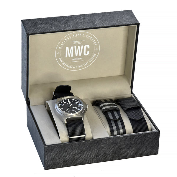 MWC 45th Anniversary Limited Edition Titanium Military Watch, 300m Water Resistant, 10 Year Battery Life, Luminova and Sapphire Crystal