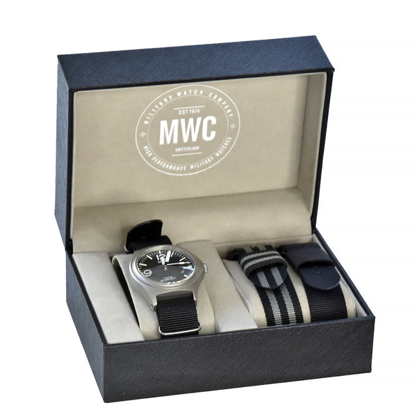 MWC 45th Anniversary Limited Edition Titanium Military Watch with Tritium GTLS, 300m Water Resistant, 10 Year Battery Life and Sapphire Crystal - Ex Display Watch