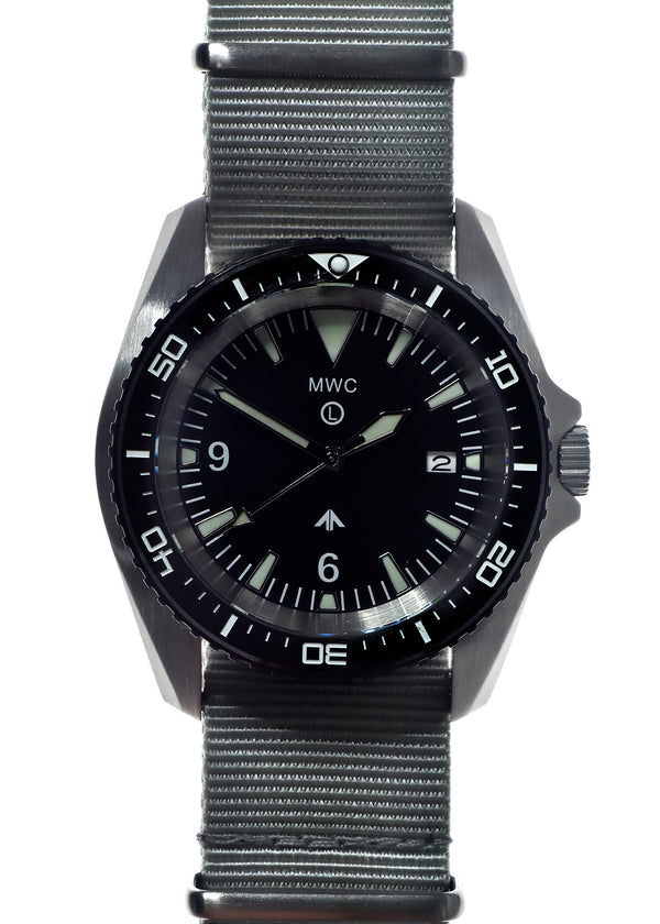 Military Divers Watch Stainless Steel (Automatic) 12 Hour Dial with Sapphire Crystal and Ceramic Bezel - Ex Display Watch from the IWA Ausstellung in Nürnberg, Germany
