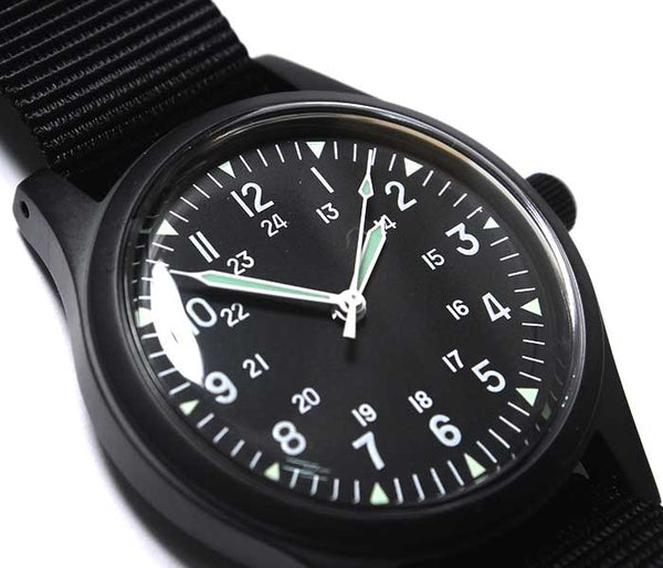 GG-W-113 US 1960s Pattern PVD Military Watch (Automatic) - Ex Display Watch From a Trade Show