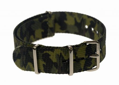 20mm Jungle / Tropical Camo NATO Military Watch Strap
