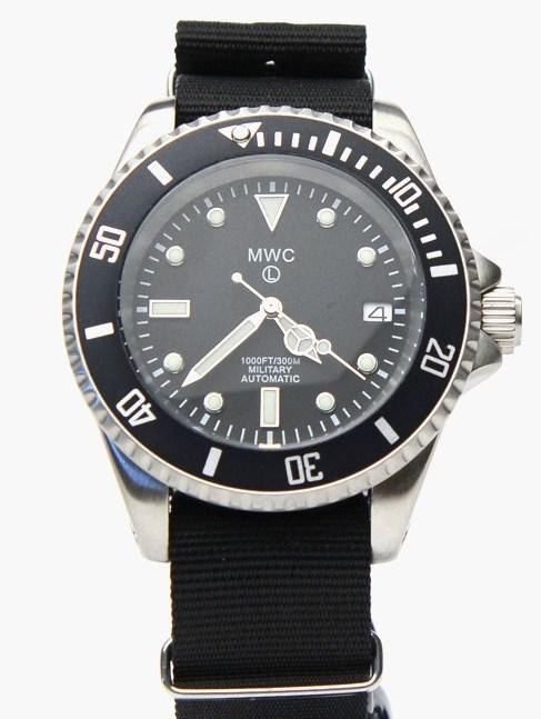 MWC 24 Jewel 300m Automatic Military Divers Watch - Ex Display Watch from a Trade Show