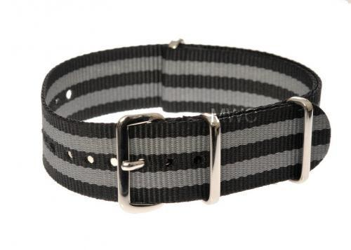 "22mm ""Bond"" NATO Military Watch Strap"