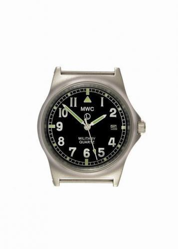 MWC G10 LM Stainless Steel Military Watch (Black Strap)