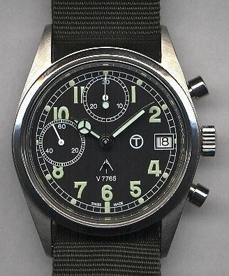 MWC Ltd Edition Valjoux 7765 Mechanical Chronograph - Used