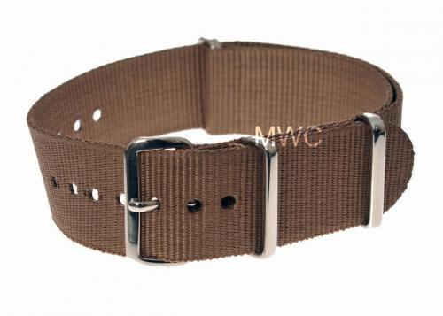 "20mm ""Desert Pattern"" NATO Military Watch Strap"