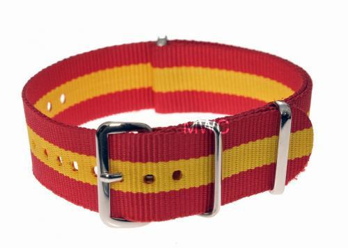 "20mm ""Spanish"" NATO Military Watch Strap"