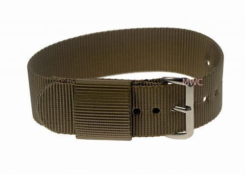 "20mm US Pattern ""Desert"" Military Watch Strap"