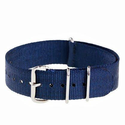 20mm Navy NATO Military Watch Strap