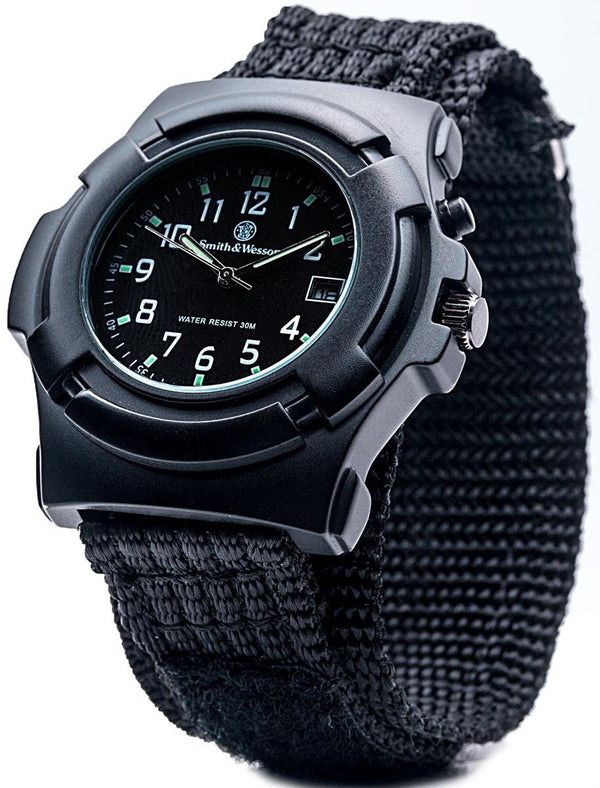 Smith & Wesson Men's Black Lawman Watch - Not Running Probably just a battery