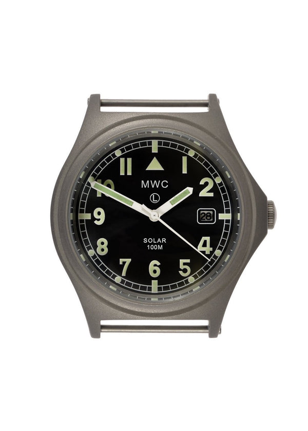 MWC G10 100m Solar Powered Titanium Military Watch (Probably Needs a New Capacitor)