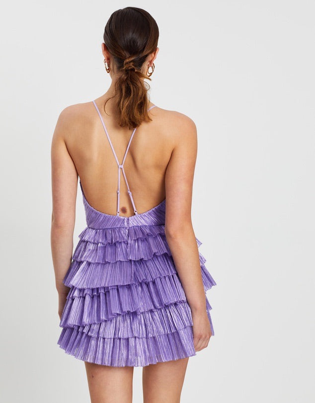 Don't Be Shy Dress (Lavender)