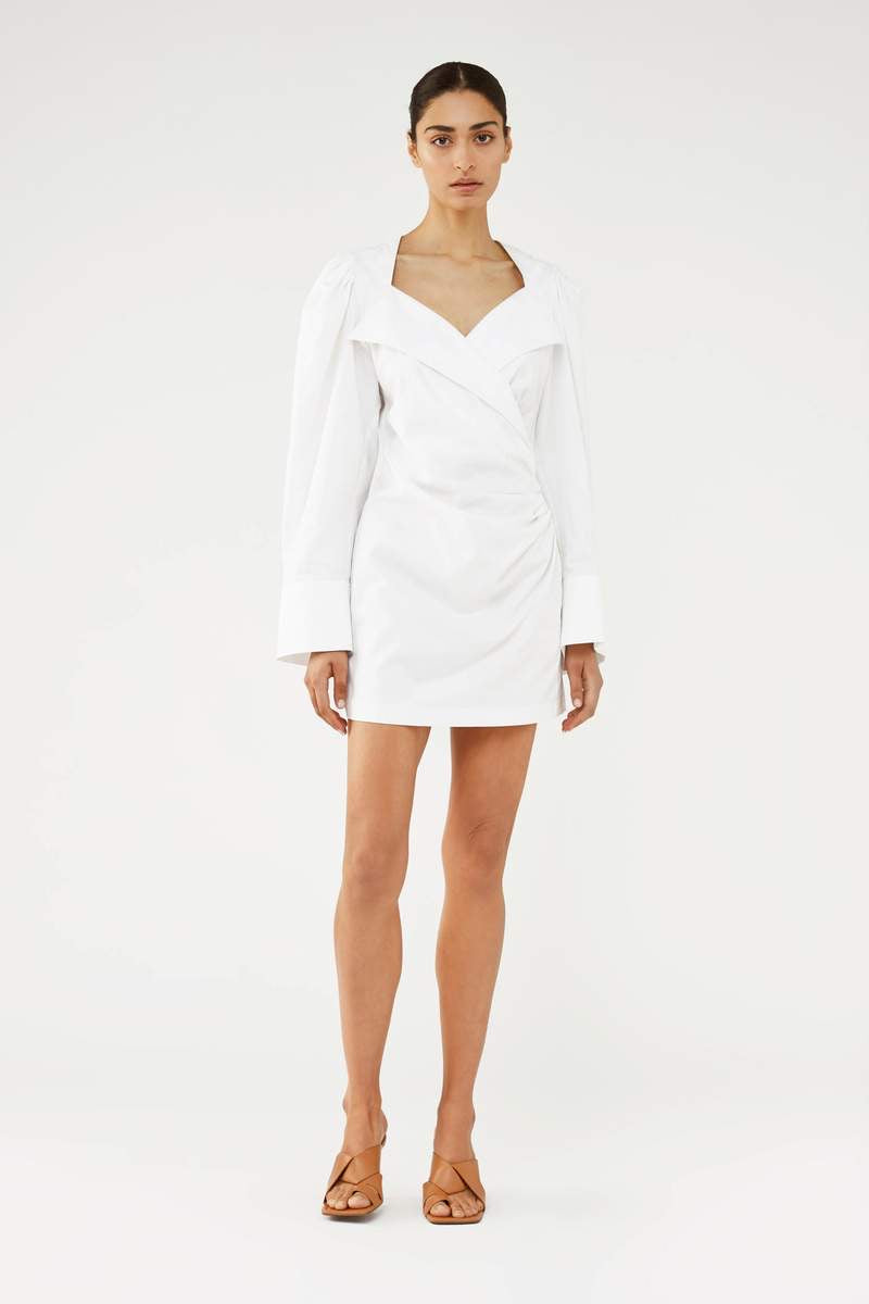 Aliso Mini Wrap Dress