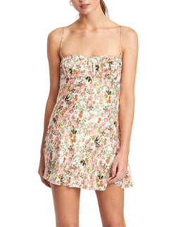 Camellia Delights Mini Dress