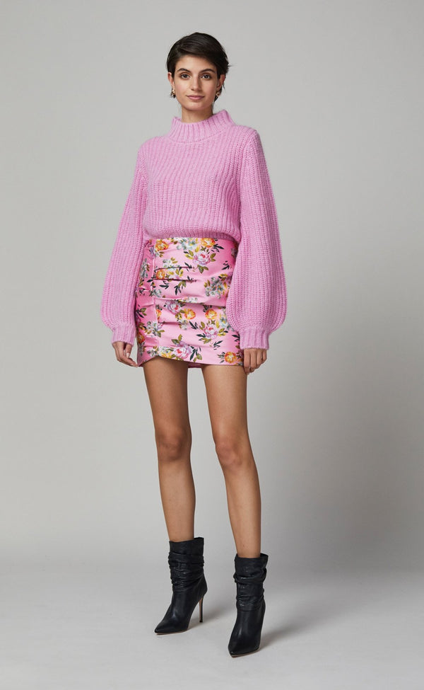 Peony Party Mini Skirt