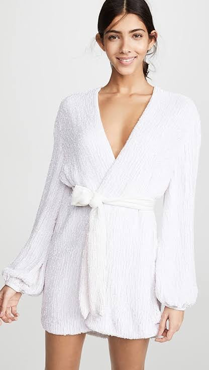 Gabrielle Robe (Moonglow White)
