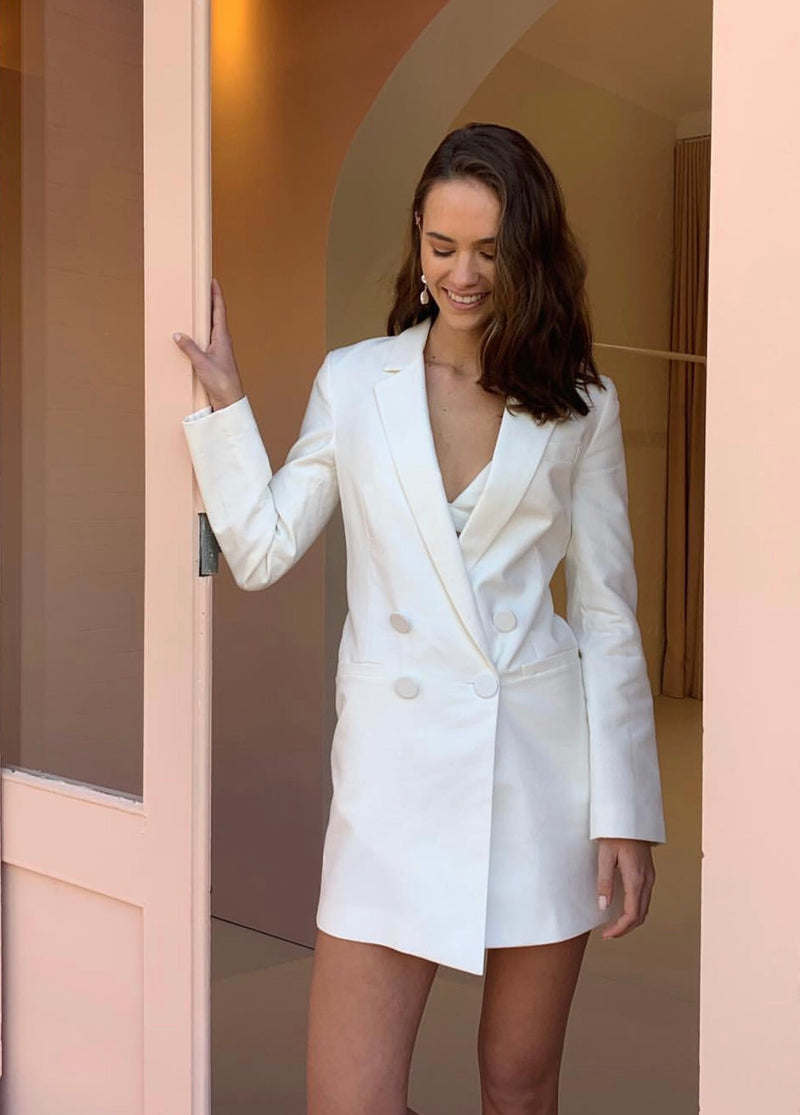 Sophia Structured Blazer Dress