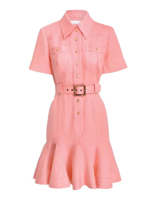 Poppy Belted Mini Dress