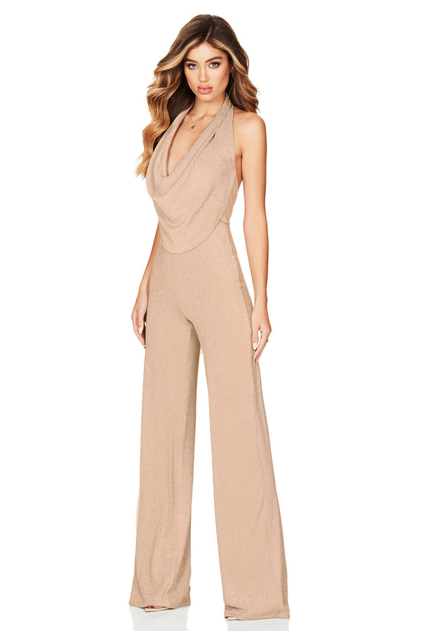 Dreamlover Jumpsuit (Gold)