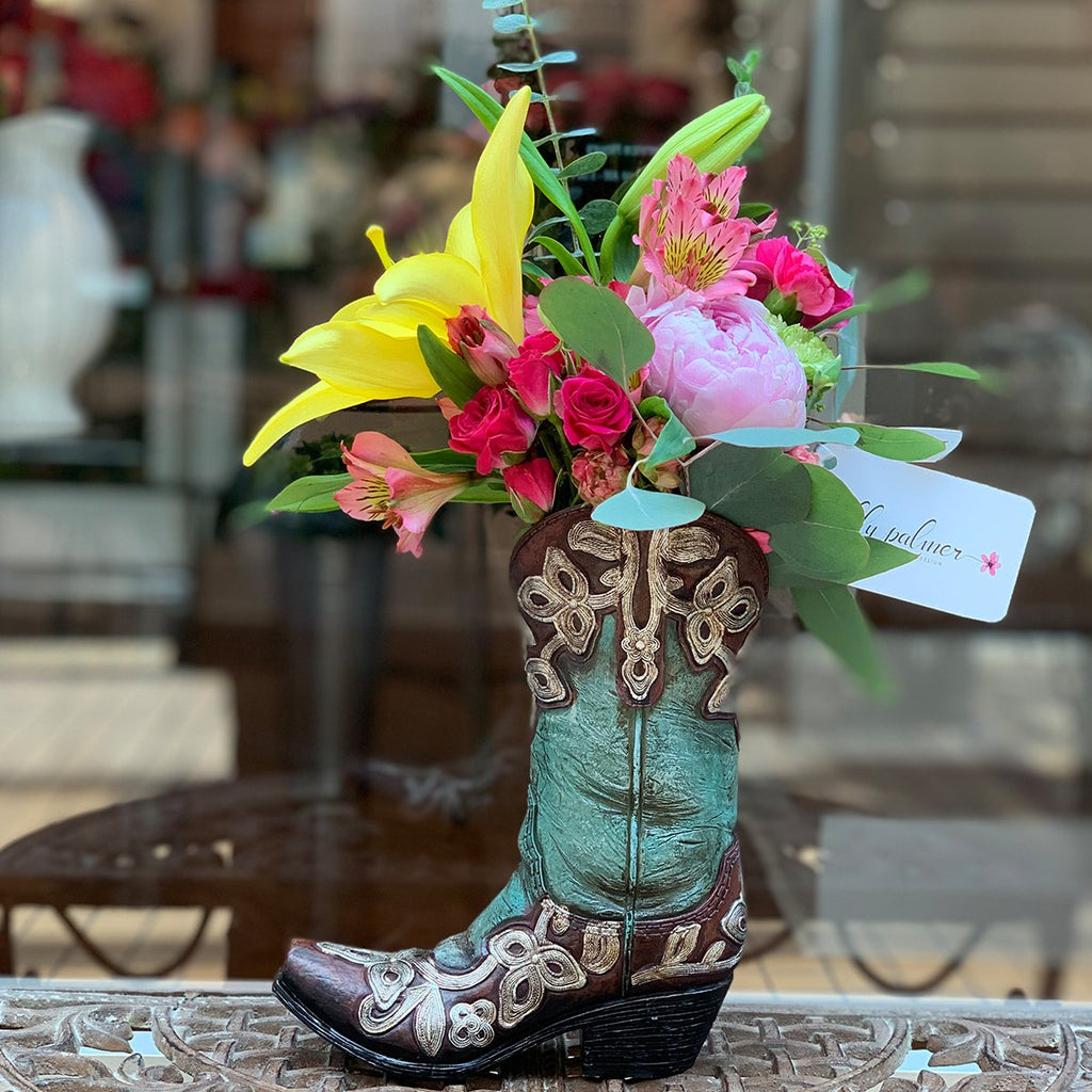 The Turquoise Boot