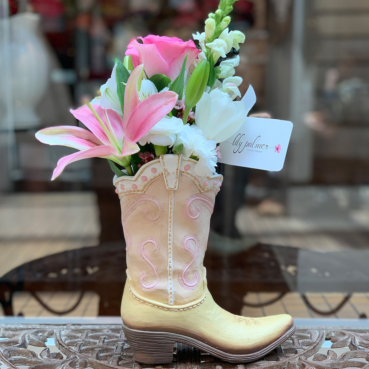 Rosy Pink Boot