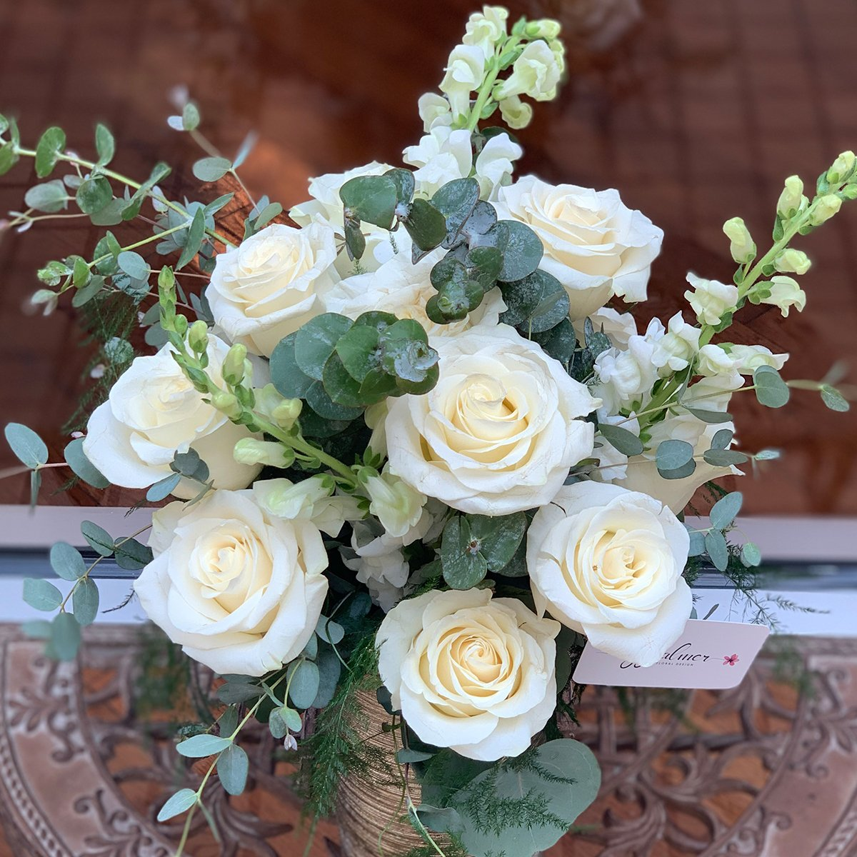 Golden Ivory Rose