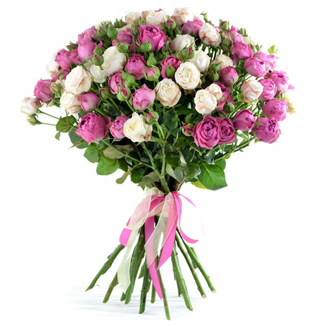 Valentine's Day 2020 - 101 Pink & White Roses