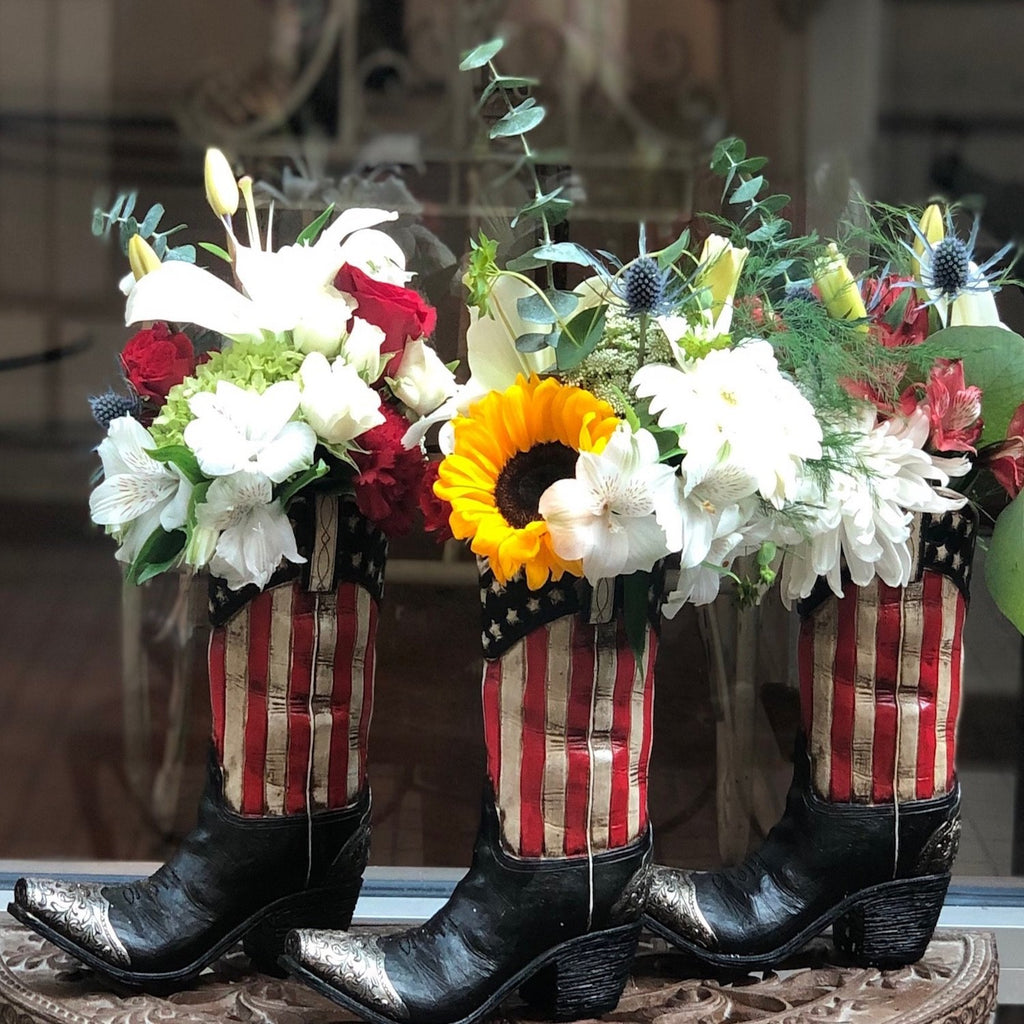 American Pride Boot Arrangement