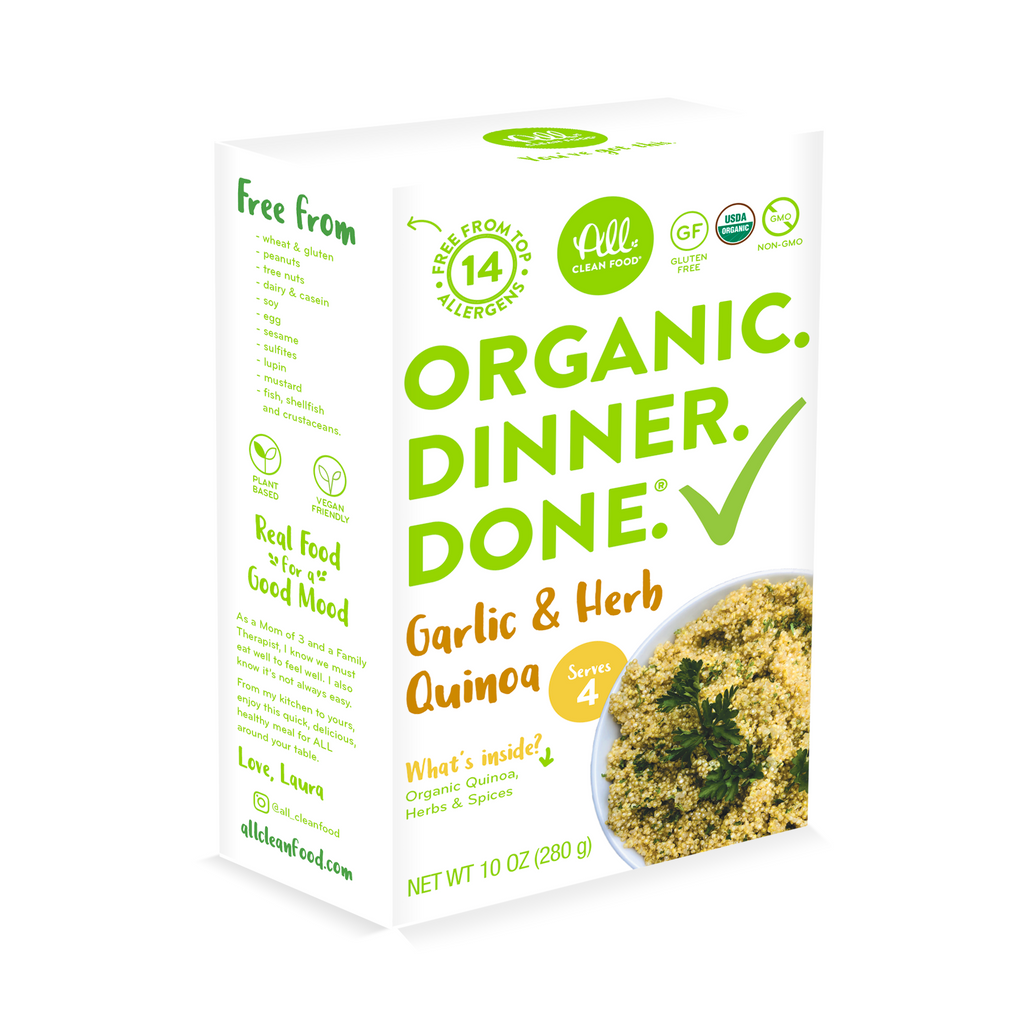 Garlic Herb Quinoa - (2-pack or 6-pack)