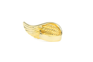Diamond Angel Wing Ring