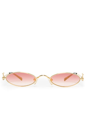The Rheas Sunglasses in Red Gradient