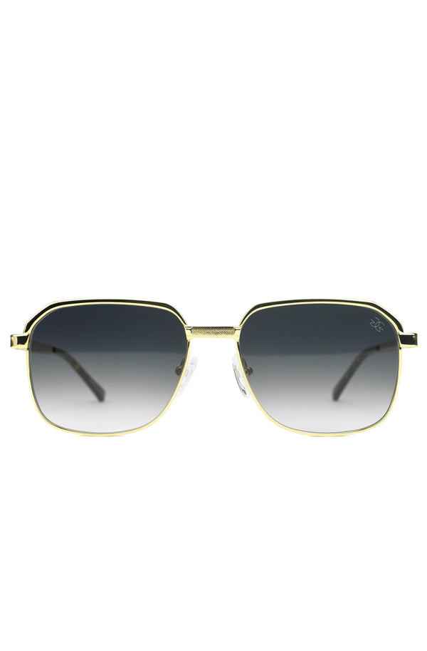 The Apollo Sunglasses in Black Gradient