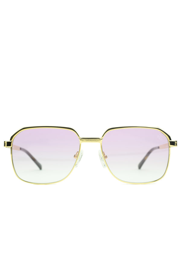 The Apollo Sunglasses in Pink Gradient