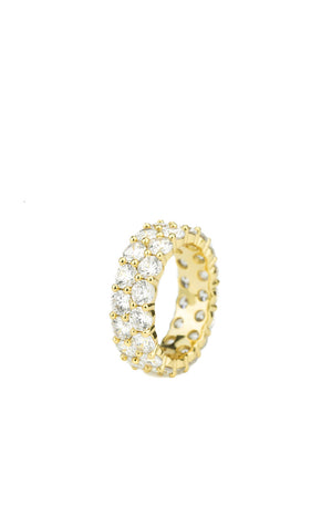 Dual Diamond Eternity Ring