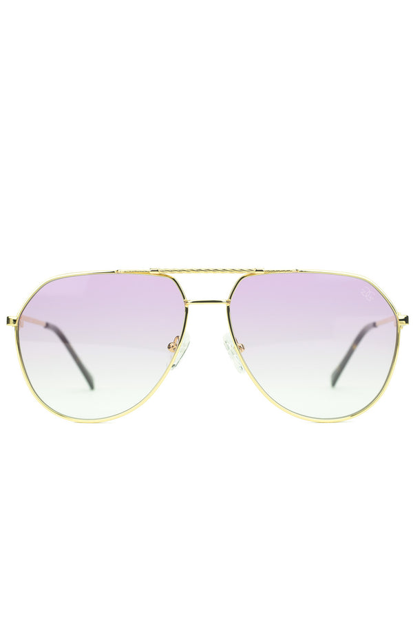The Escobar Sunglasses in Pink Gradient