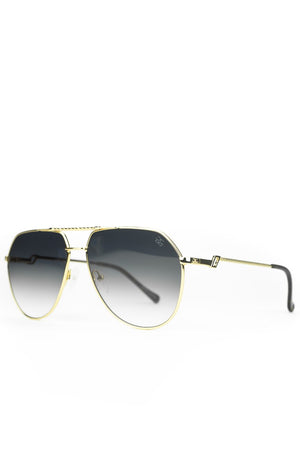 The Escobar Sunglasses in Black Gradient