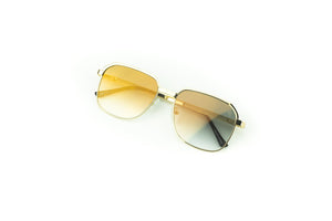 The Apollo Sunglasses in Brown Gradient