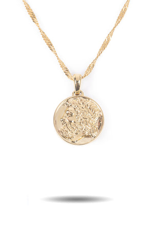 Zeus Ancient Coin Necklace