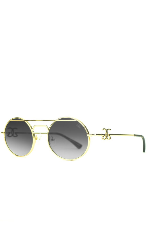 The Luminaries Sunglasses in Black Gradient