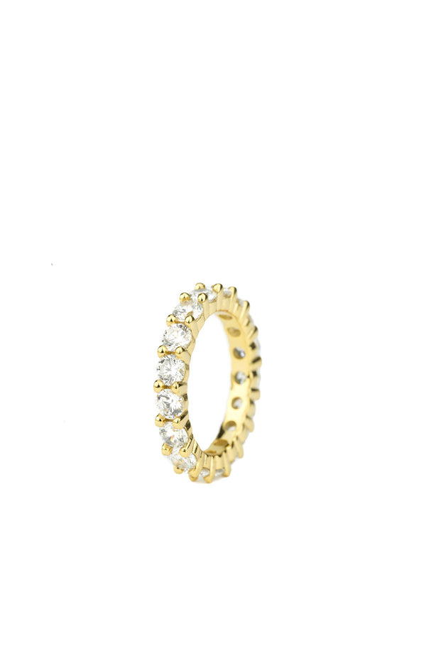 Single Diamond Eternity Ring