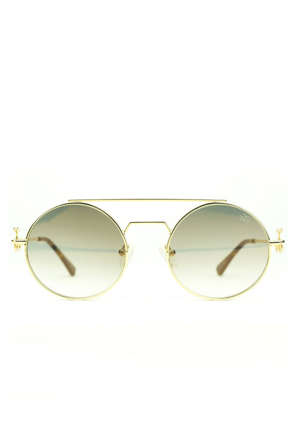 The Visionaries Sunglasses in Brown Gradient