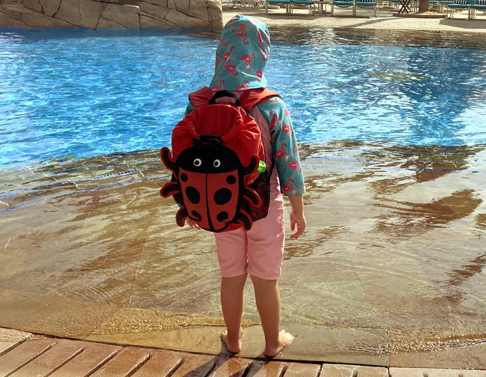 OverBoard Kids Ladybird Waterproof Backpack - 11 Litres