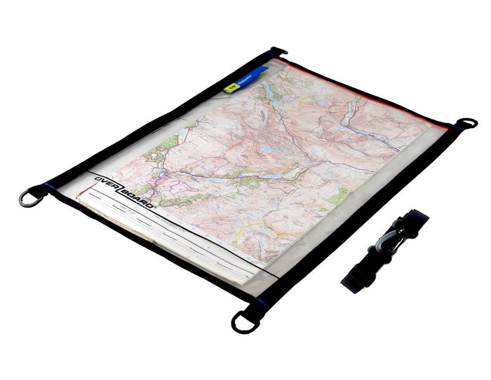 OverBoard Waterproof Map Pouch - A3